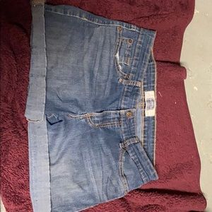 A pair of Levi Strauss shorts